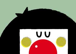 Retrato de Monday Claun de TipOs VerDes